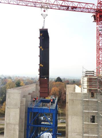 IWB: Dampfkessel für zweites Basler Holzkraftwerk wird eingebaut (ee ...